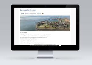 Bunkerstation Borkum Anne Theilke Website Webdesign von snap new media - Anke Klusmeyer
