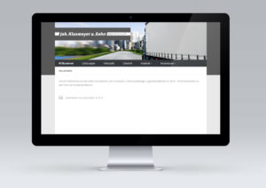 Website Webdesign Spedition Klusmeyer