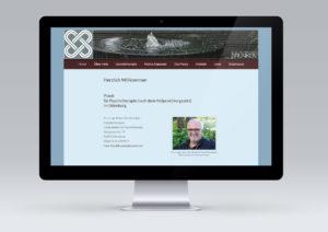 Website für Brunken Gestalttherapie von snap new media - Anke Klusmeyer