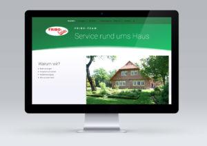 Website für Fribo-Team von snap new media - Anke Klusmeyer
